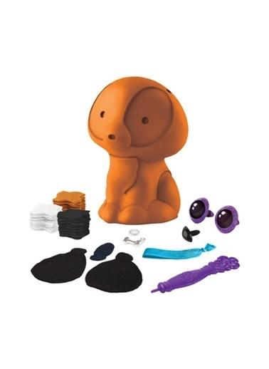 Orb Factory Orb factory Plush Craft Renkli 3D Yavru Köpek Tamı Renkli